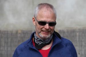 Luc, conteur et metteur en scène de la Compagnie KKSTROF